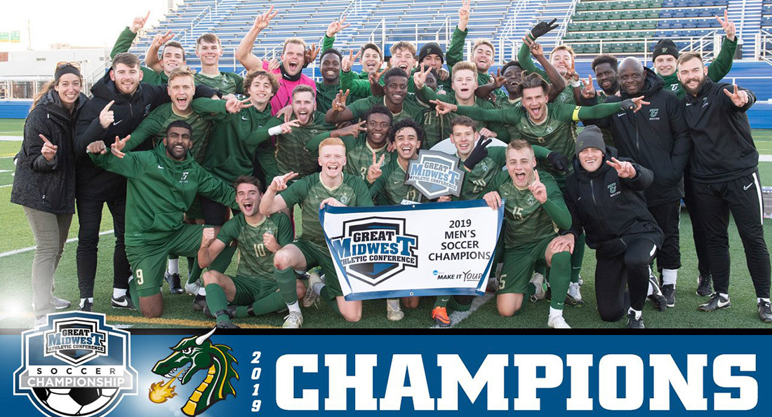 Tiffin University won its second consecutive GMAC Tournament championship.
