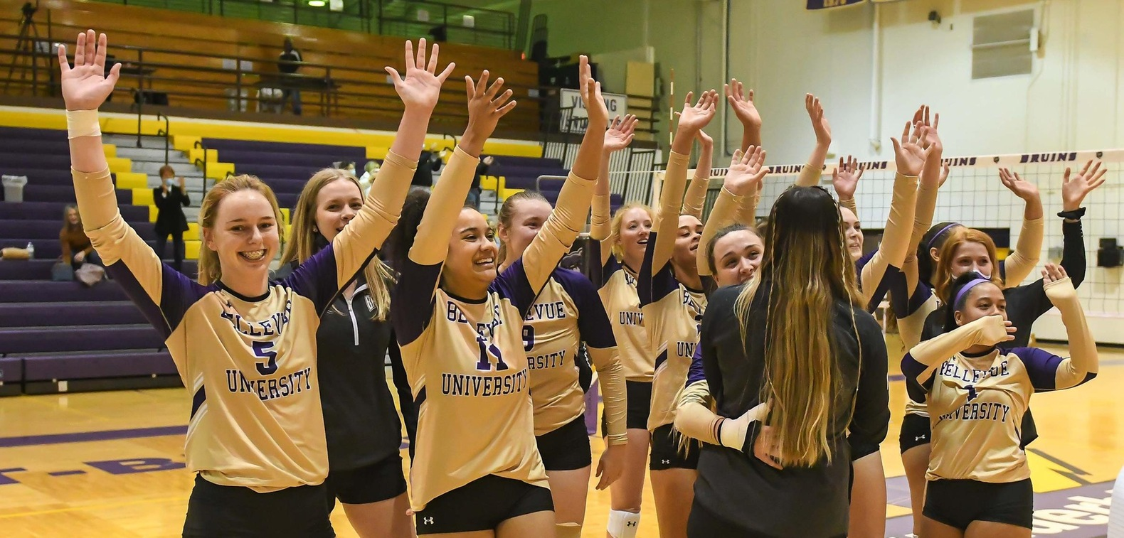 Bruins fight back for 5-set win over Rams in NAIA Opening Round