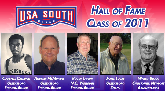 USA South Announces 2011 Hall of Fame Class