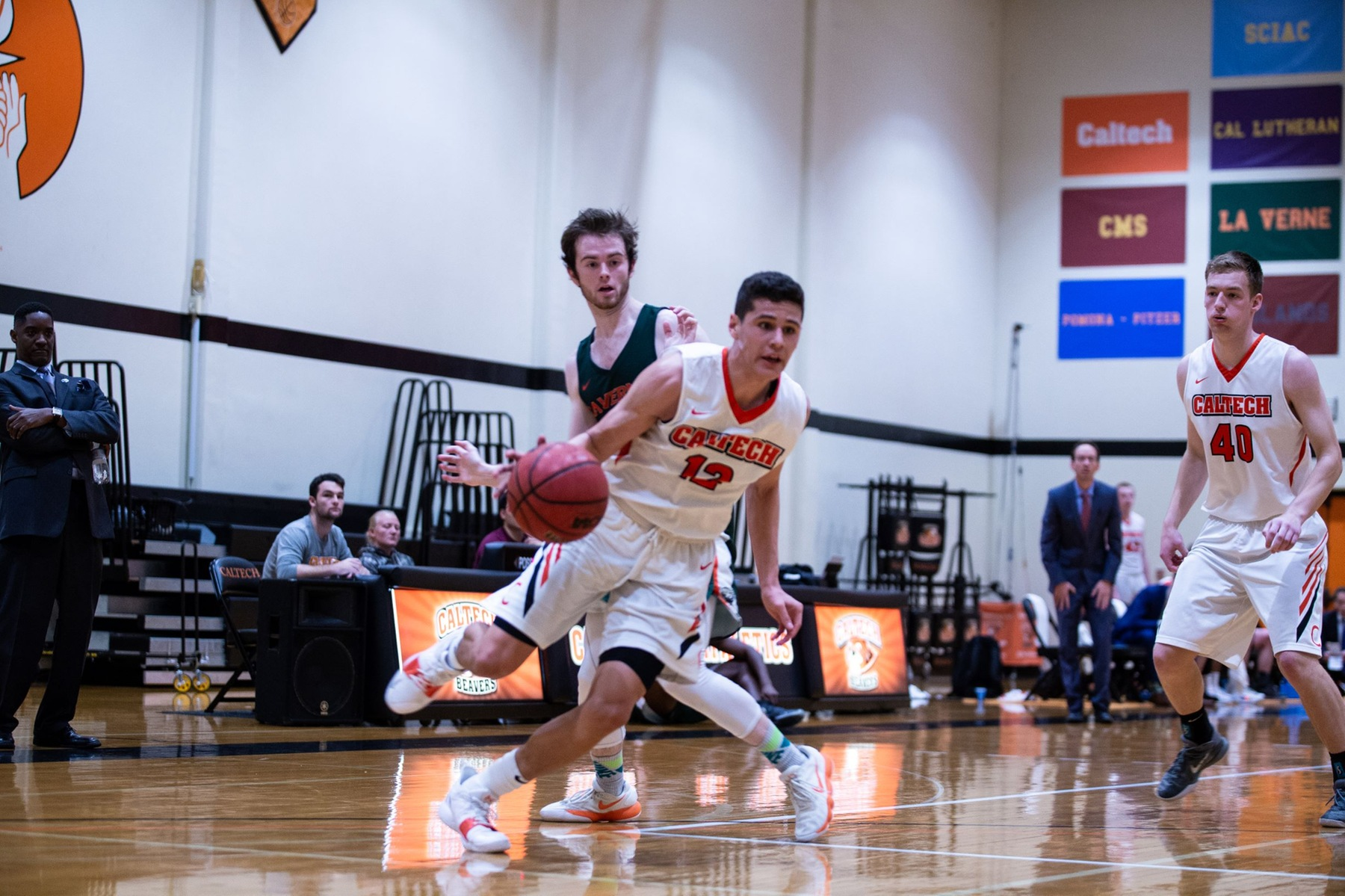 Men's Basketball Wraps Historic Season at First-Place Sagehens