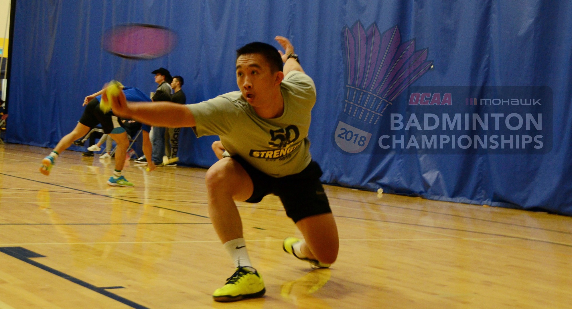 EIGHT HAWKS IN SEARCH OF OCAA BADMINTON GOLD