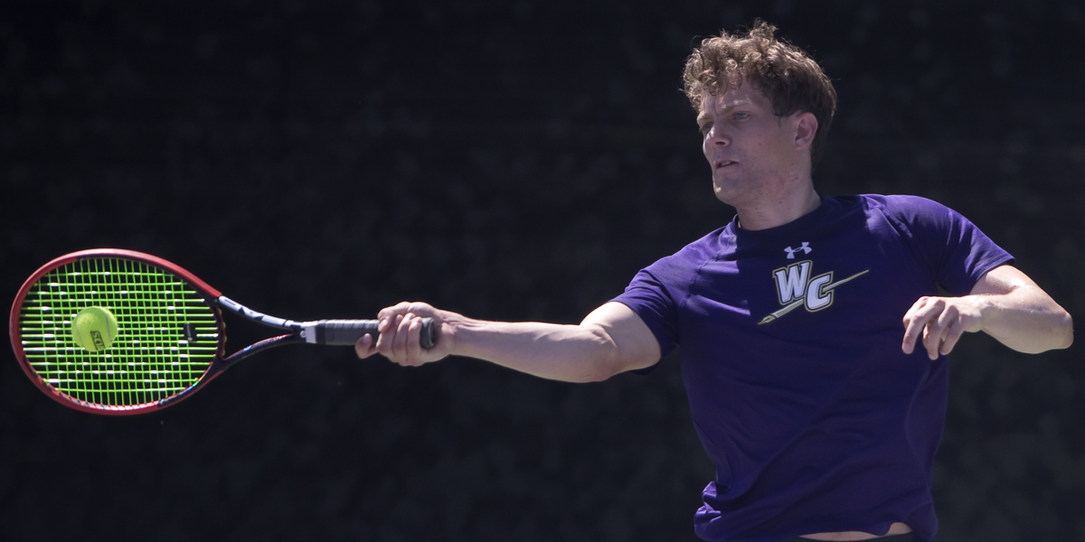 Men's Tennis opens 2018 with 7-2 loss to UCSC