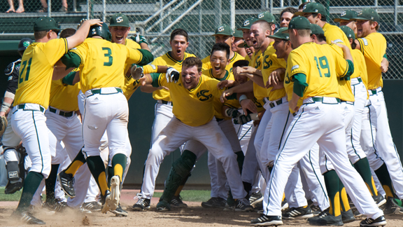 BASEBALL WINS WAC ON DEL GRANDE WALK-OFF HOMER