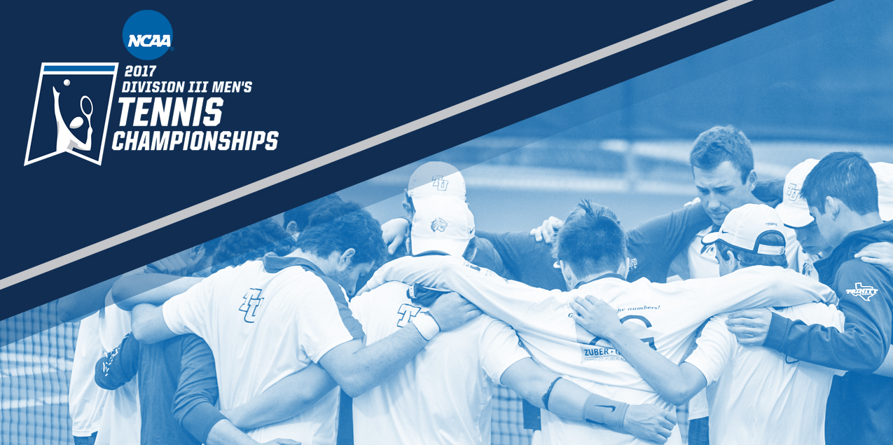 Trinity to Face Whitman in Opening Round of NCAA Men's Tennis Tournament