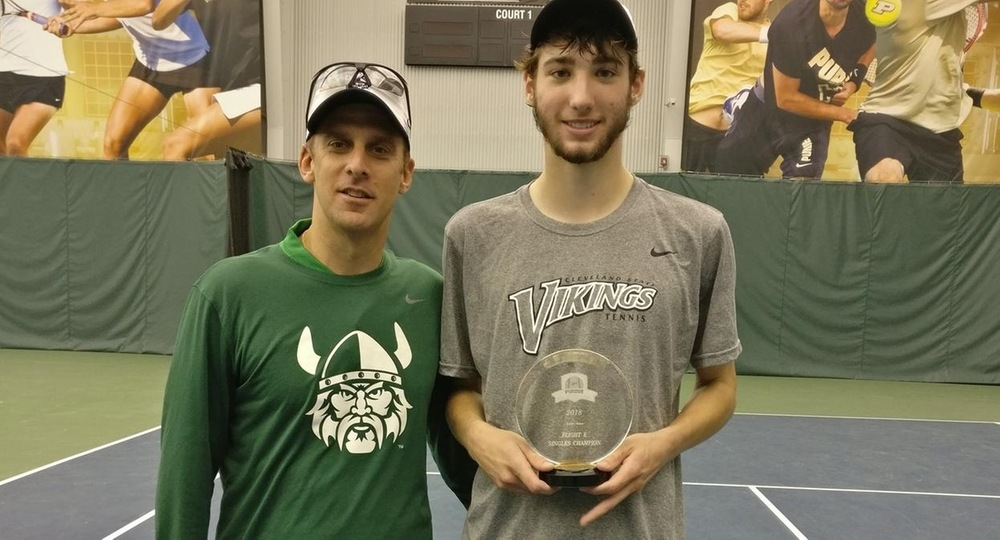Men's Tennis Brings Home Two Titles From Purdue Fall Invitational