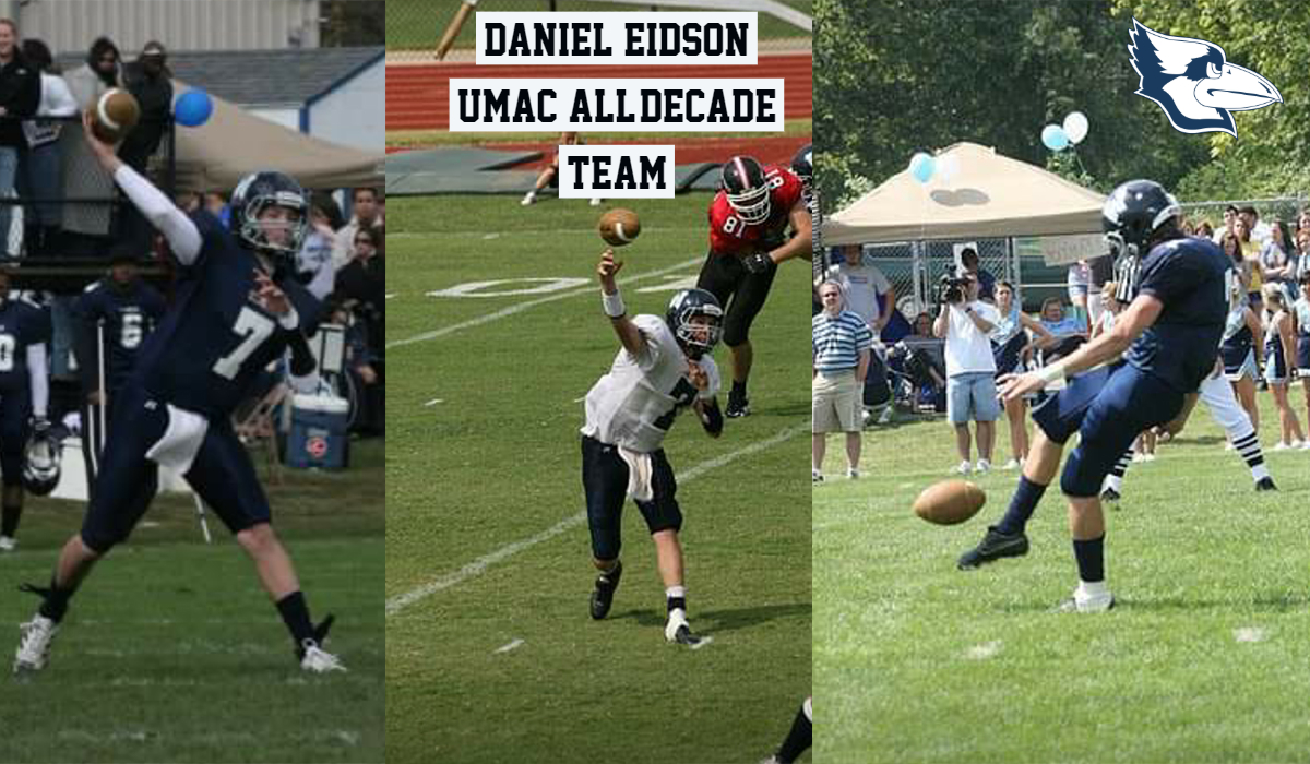 Eidson ('10) Earns Spot on UMAC All-Decade Team