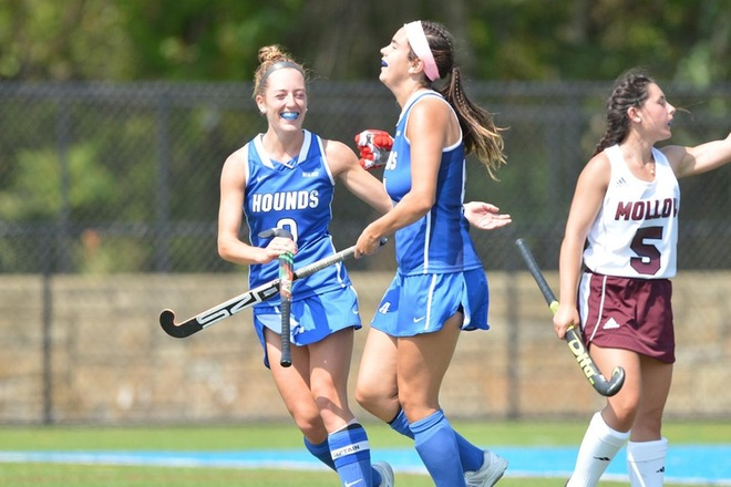 Field Hockey Upended by No. 5 Stonehill