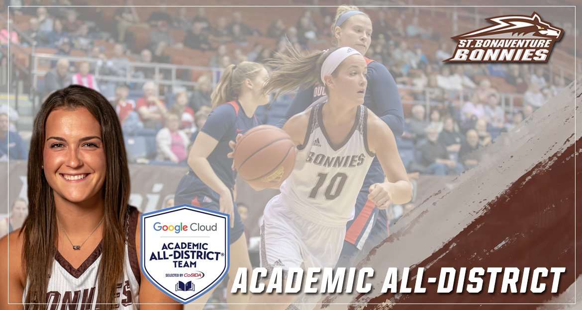Maycock Earns Google Cloud CoSIDA Academic All-District Honors For Third Straight Year