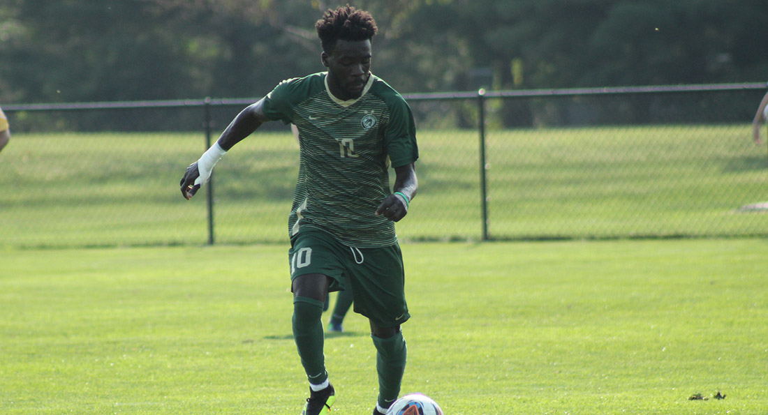 Malik Suleman scored the lone goal in the big 1-0 win over Ohio Valley.