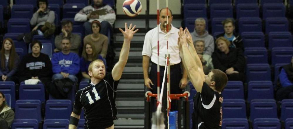 Ranked Stevenson Takes Down Volleyball Men - Eastern Mennonite