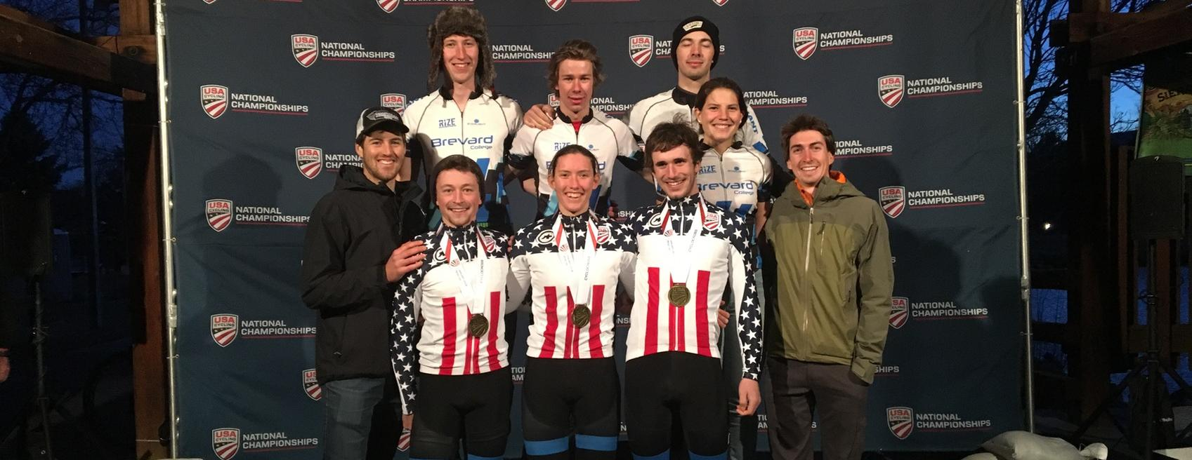 Tornados Defend Team Relay National Championship, Place Third in Varsity Team Omnium