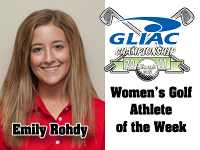 GLIAC Names Emily Rohdy Women's Golf Athlete of the Week