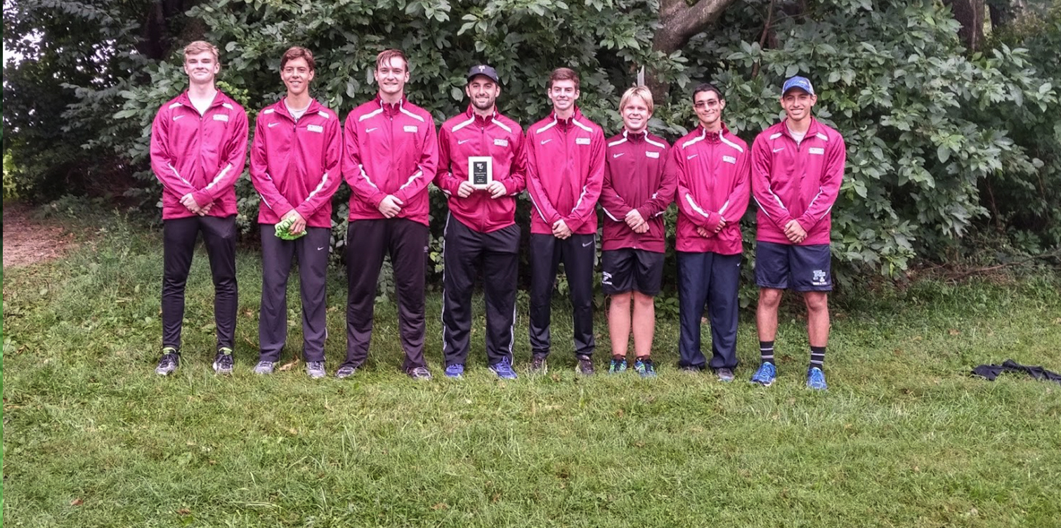 Freshmen Lead Men's Cross Country to Third Place Finish at Season-Opening WilmU Invite