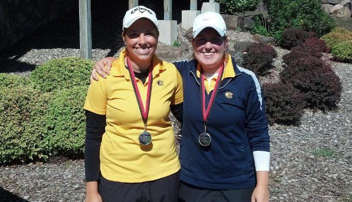 Engler and Stone Lead Women's Golf at Blazer Invitational
