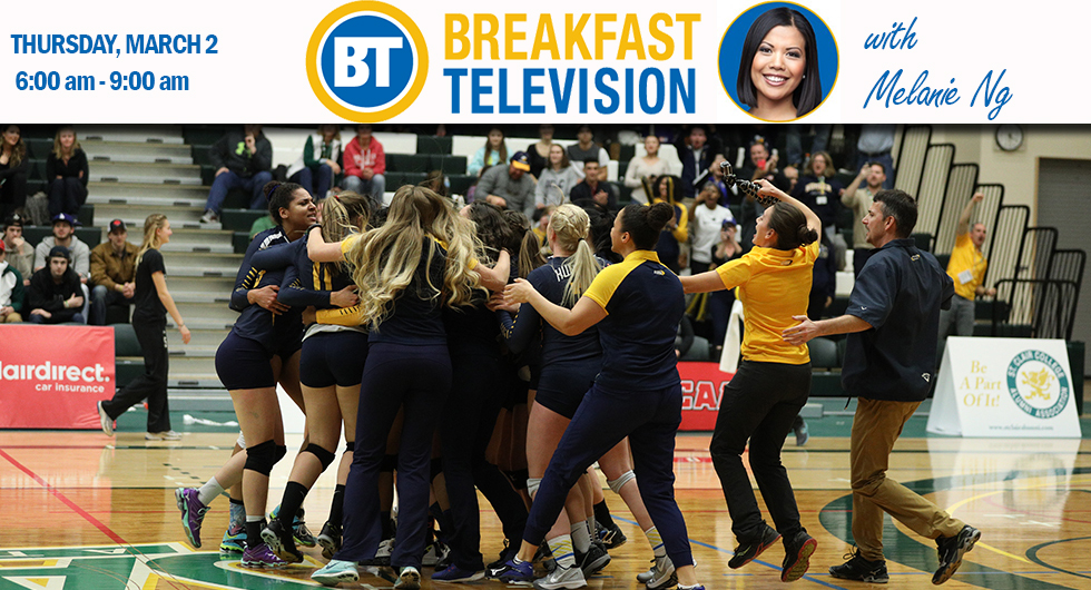 WVB TO BE FEATURED ON BREAKFAST TELEVISION WITH MELANIE NG