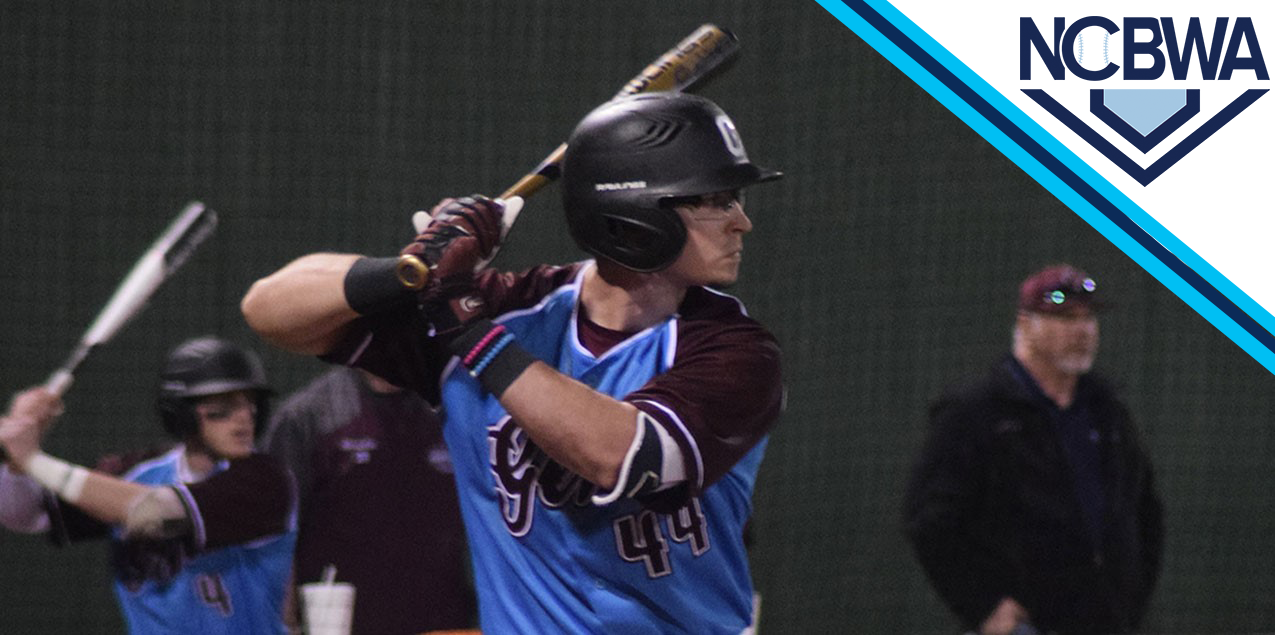 Centenary's Ludwick Earns NCBWA Division III National POTW Honor