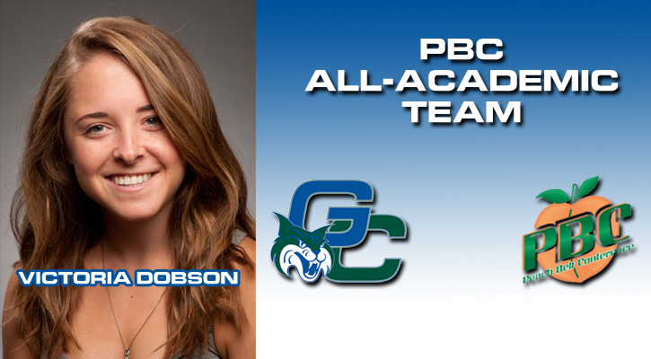 Dobson Named to PBC Women's Cross Country All-Academic Team