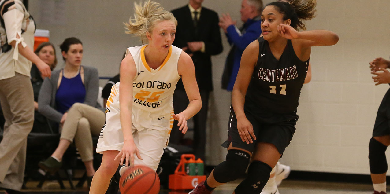 Strong Third Quarter Propels Colorado College To 62-58 Victory Over Centenary