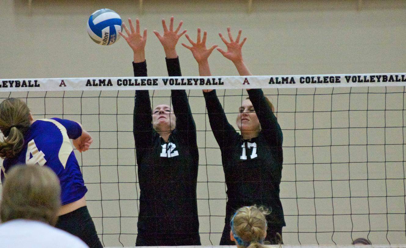 Alma Volleyball defeats Adrian 3-1 (23-25, 25-23, 25-13, 25-19)