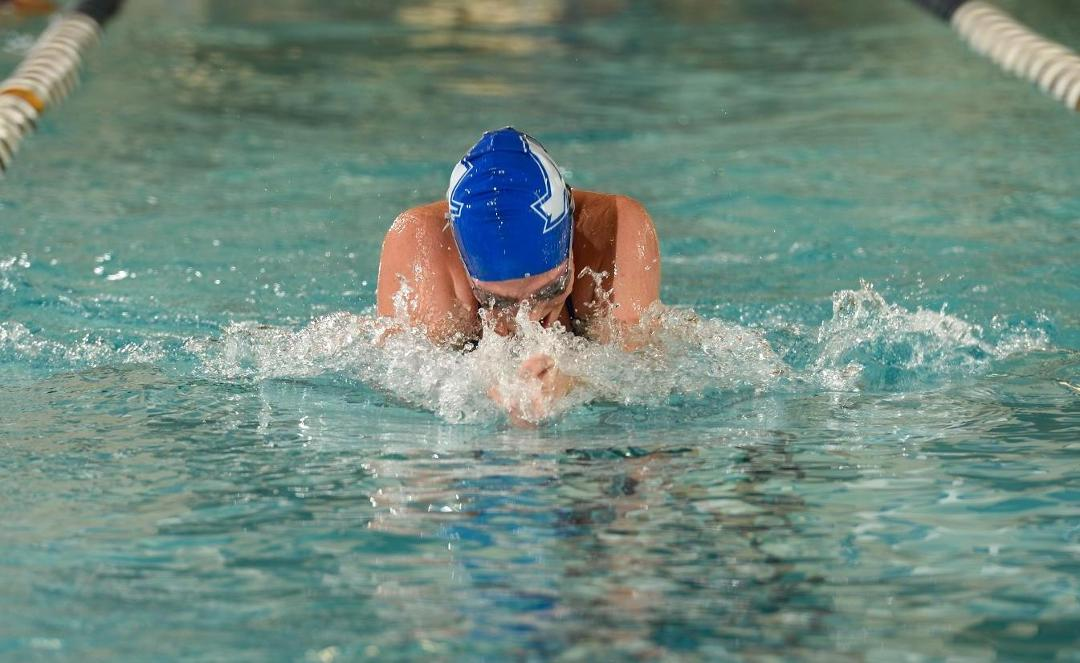 Hounds Take Fourth WCC Championship - Ferris Swimmer of the Meet