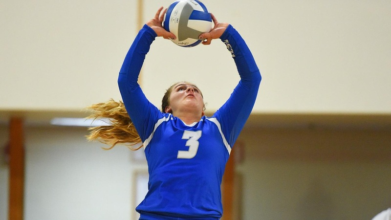 Volleyball Falls to Niagara in Weekend Opener