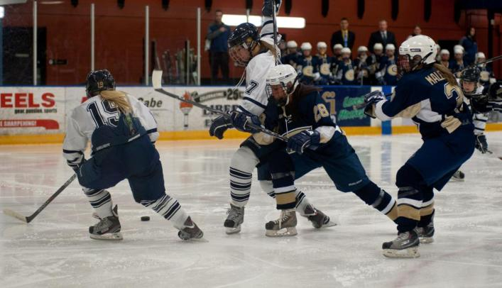 Women's Hockey Drops Weekend Series at Lake Forest