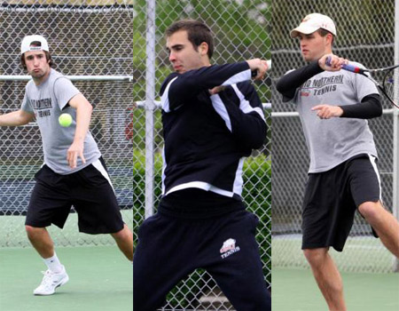 Men's Tennis honors three seniors with dominating 9-0 sweep of Muskingum