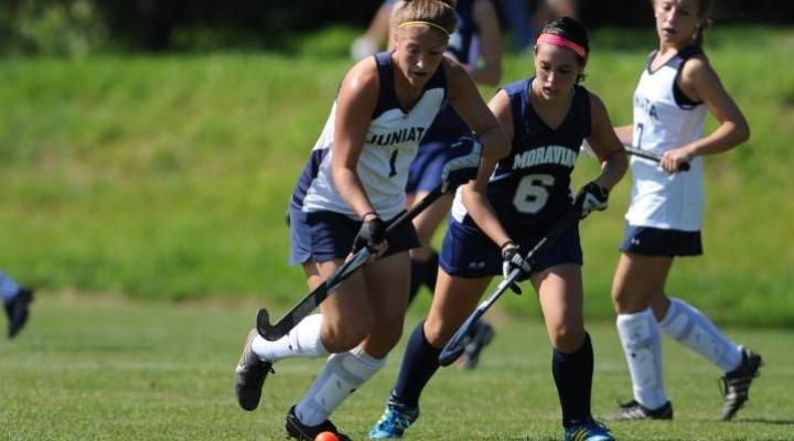 Field hockey falters in latter minutes to Dickinson and drops 3-2 loss in penalty strokes