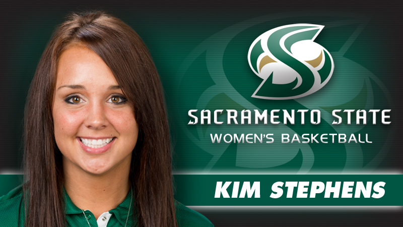 KIM STEPHENS NAMED WOMEN'S BASKETBALL ASSISTANT COACH