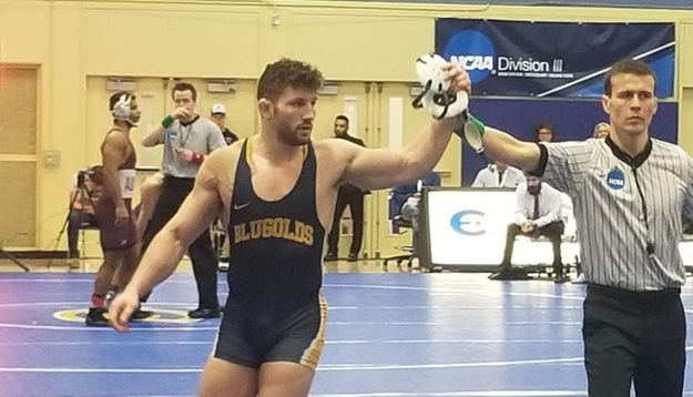 Four Blugolds place at NCAA Wrestling Regionals