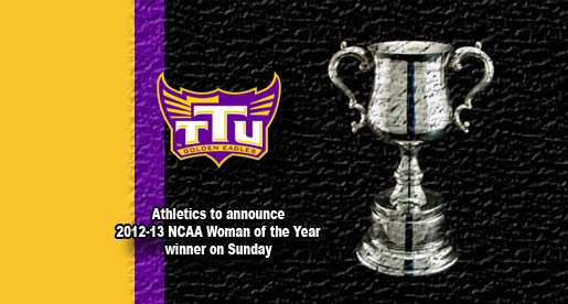 Eight finalists announced for Tech's 2012 NCAA Woman of the Year award