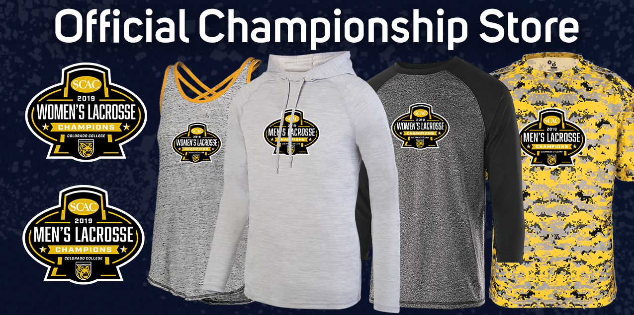 Purchase Colorado College Men's and Women's Lacrosse Winners Gear
