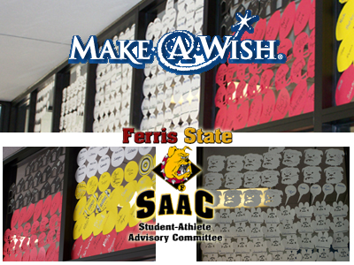 Ferris State SAAC Helps Make Wishes Come True