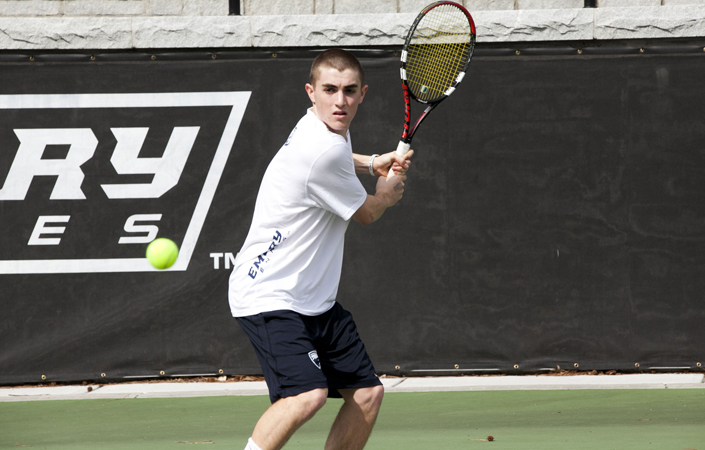 Emory Men's Tennis Rolls By Rochester In UAA  Quarterfinals