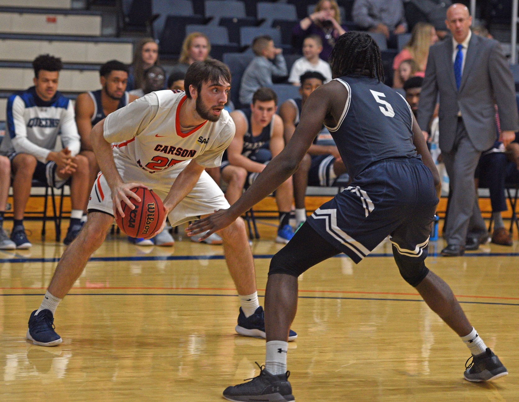 Top-seeded, ninth-ranked Queens awaits Carson-Newman in opening round of Pilot/Flying J SAC Basketball Tournament