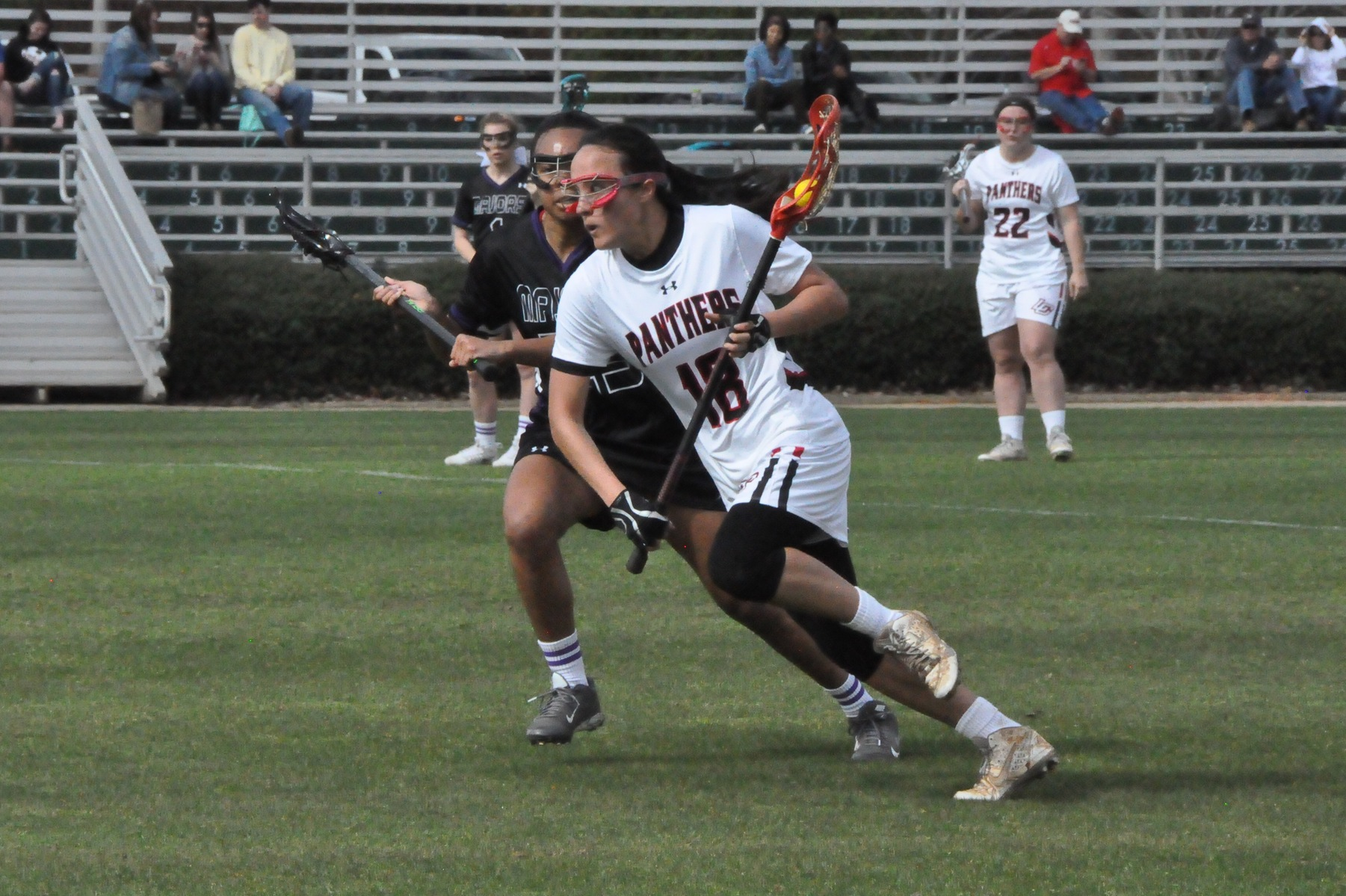 2016-17 Review/Lacrosse: Eva Tallent named USA South Rookie of the Week after helping Panthers to opening win