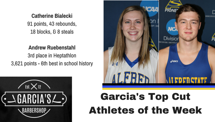 Garcia's Top Cut Athletes of the Week - Catherine Bialecki and Andrew Ruebenstahl
