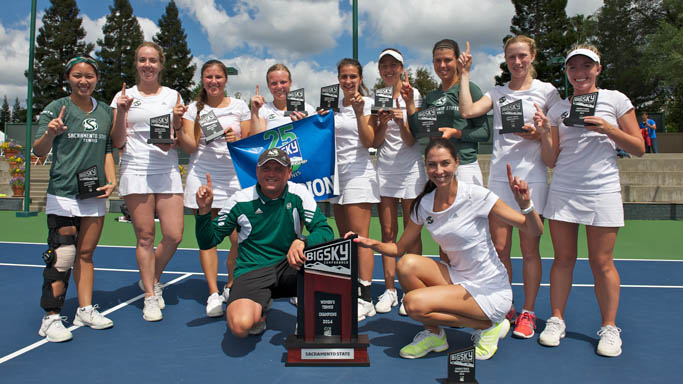 WOMEN'S TENNIS WINS 13TH STRAIGHT BIG SKY CHAMPIONSHIP