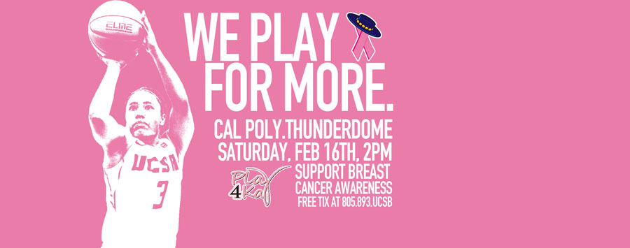 UCSB to Hold Women's Basketball Clinic, Will Host Play 4Kay Game