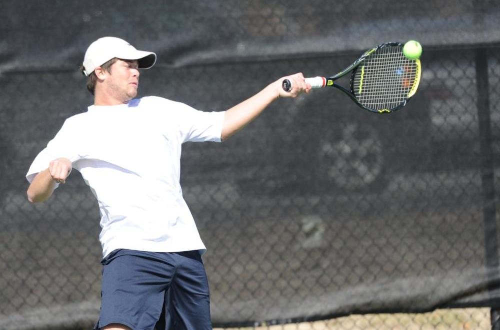 Men's tennis swept by Wingate
