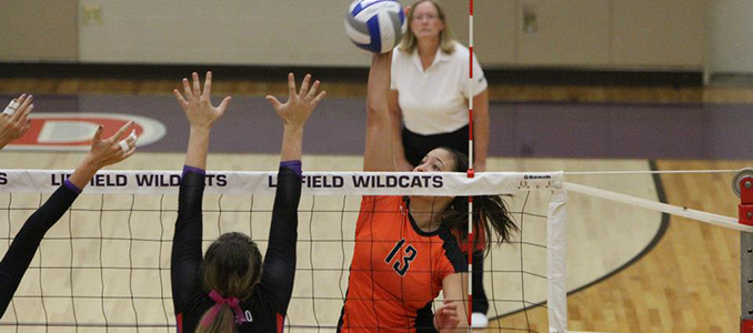 Volleyball Falls to Strong Concordia (Ore.) Side 3-0