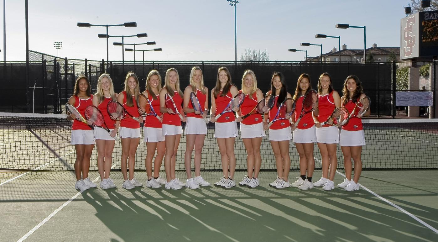 WCC Championship Brackets and All-Academic Teams Announced for Women's Tennis