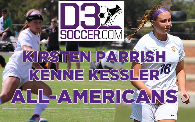 Kessler Named Forward of the Year, Joins Parrish As All-American