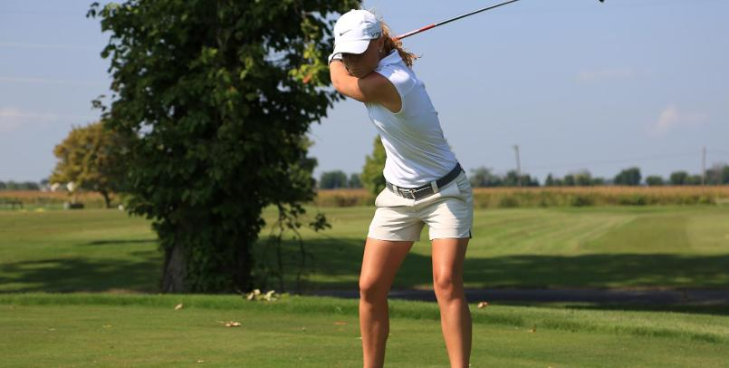 Alexa Marston had the low round of 81 on day two of competition for the Lady Cardinals...