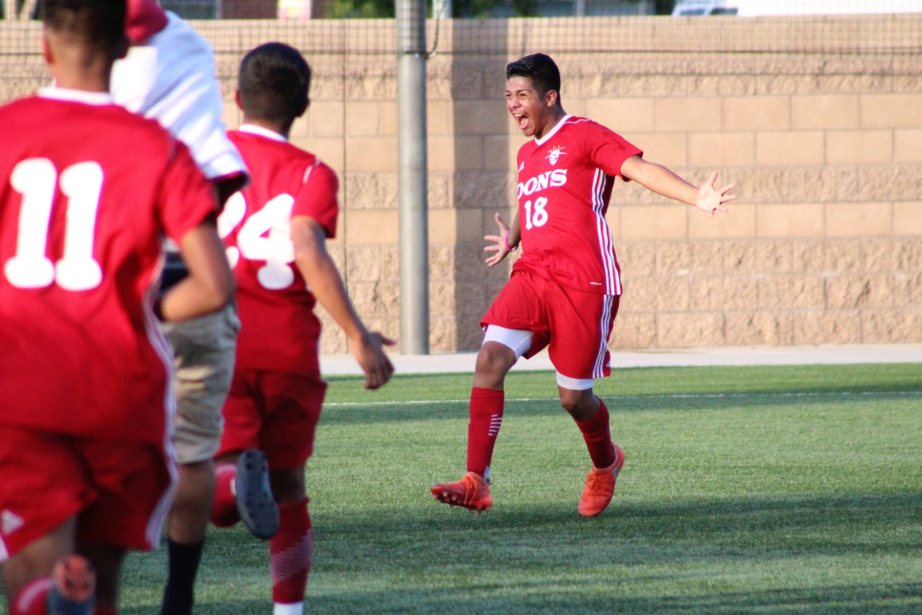 Dons Come Back to Win 3-1, Advance to Round Two of CCCAA Playoffs