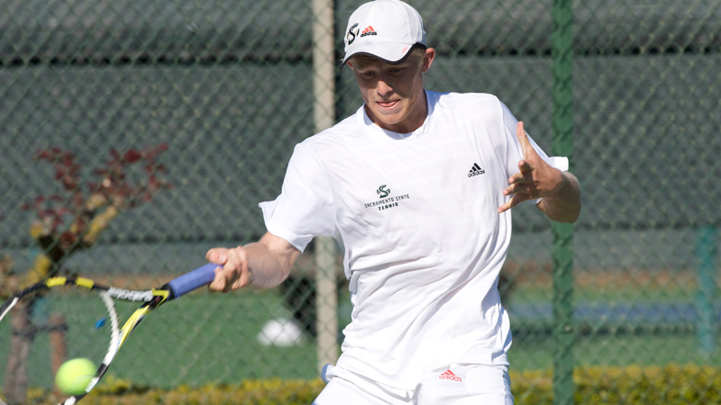 MEN'S TENNIS CONCLUDES REGULAR SEASON WITH WIN, WILL BE THE NO. 1 SEED IN BIG SKY TOURNEY