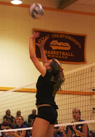 Athenas Volleyball Splits Again
