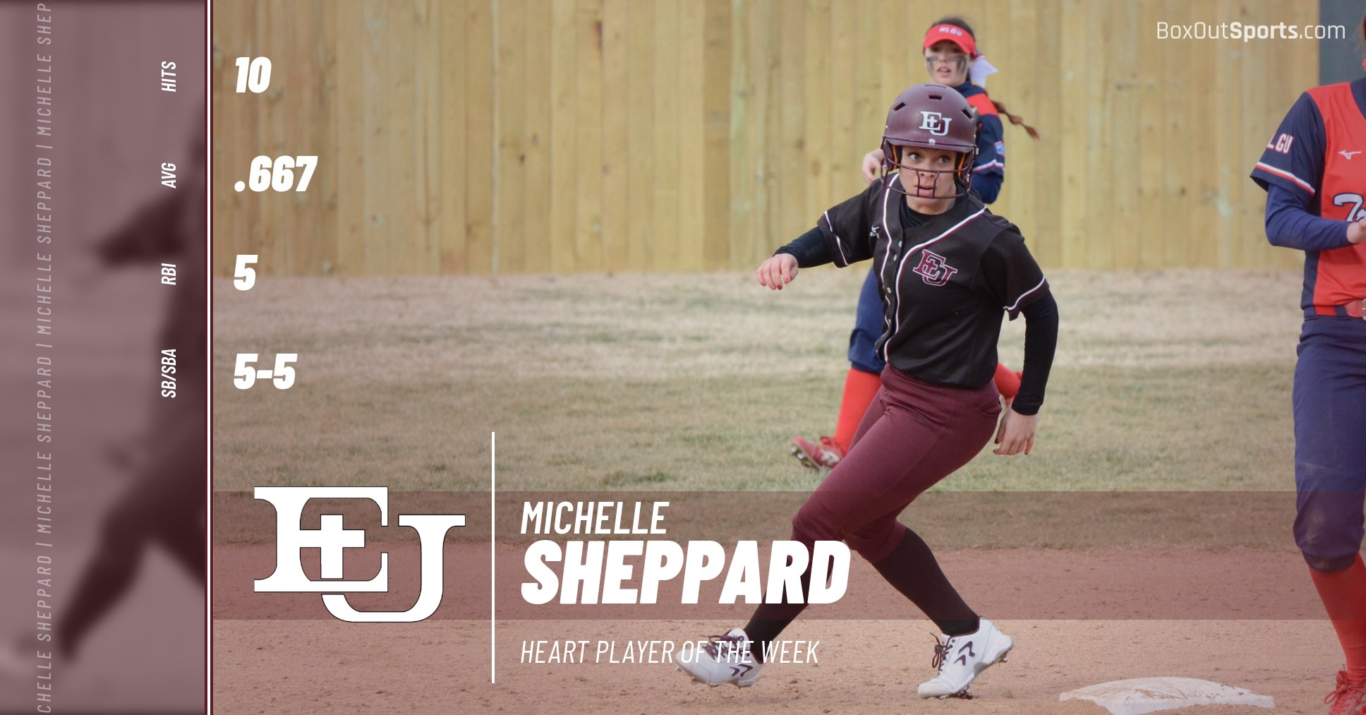 Sheppard Earns Season's First Conference Player of the Week Honor