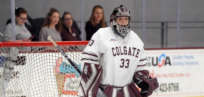 Colgate season ends in ECAC Hockey semifinal against Clarkson