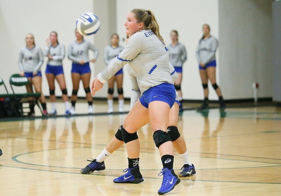 WOMEN'S VOLLEYBALL FALLS TO ALBERTUS MAGNUS IN SEASON FINALE